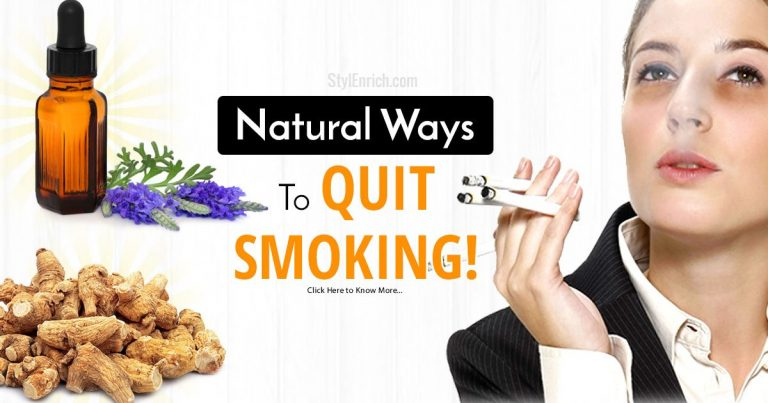 How To Quit Smoking Naturally – Natural Methods To Help You Quit Smoking