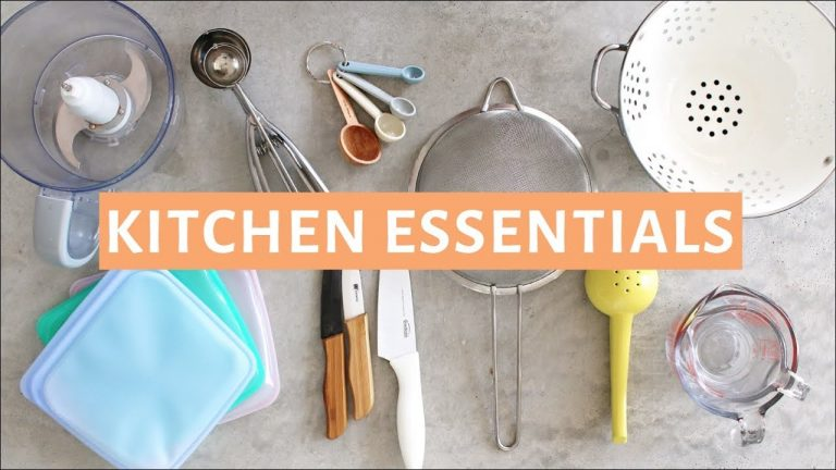 Kitchen Essentials: Things That Are Compulsory in a Kitchen