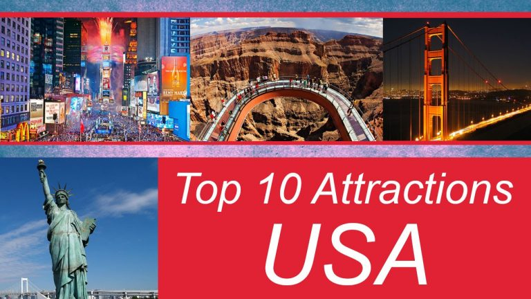 Top 10 Vacation Spots In USA